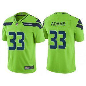 Women Seattle Seahawks Jamal Adams Green Jersey